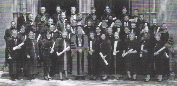 The General Theological Seminary 1996 graduating class