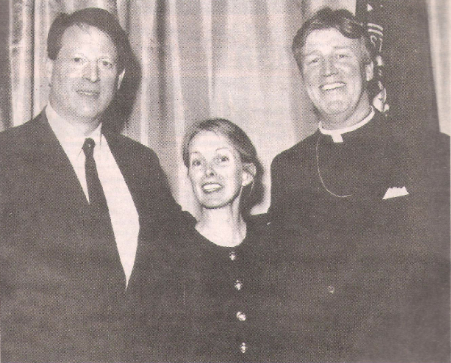 Bishop Craig Anderson, Liz Anderson and Al Gore