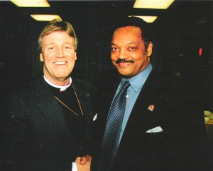 Bishop Anderson and Rev. Jesse Jackson