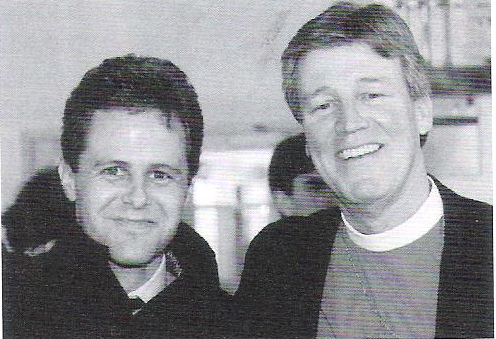 Bill Vogel and Bishop Craig Anderson